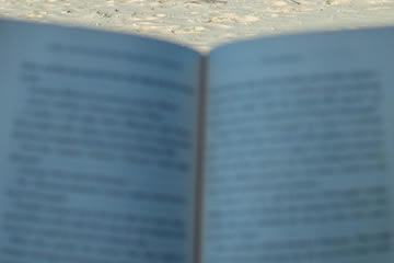 Lazy Day On The Beach With A Good Book