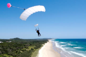 Skydive Over Coolum Beach