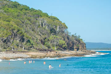 Swim At Tea Tree Bay