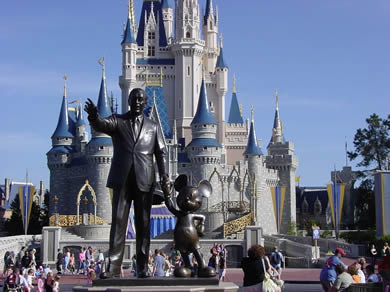 Florida is home to Disney World