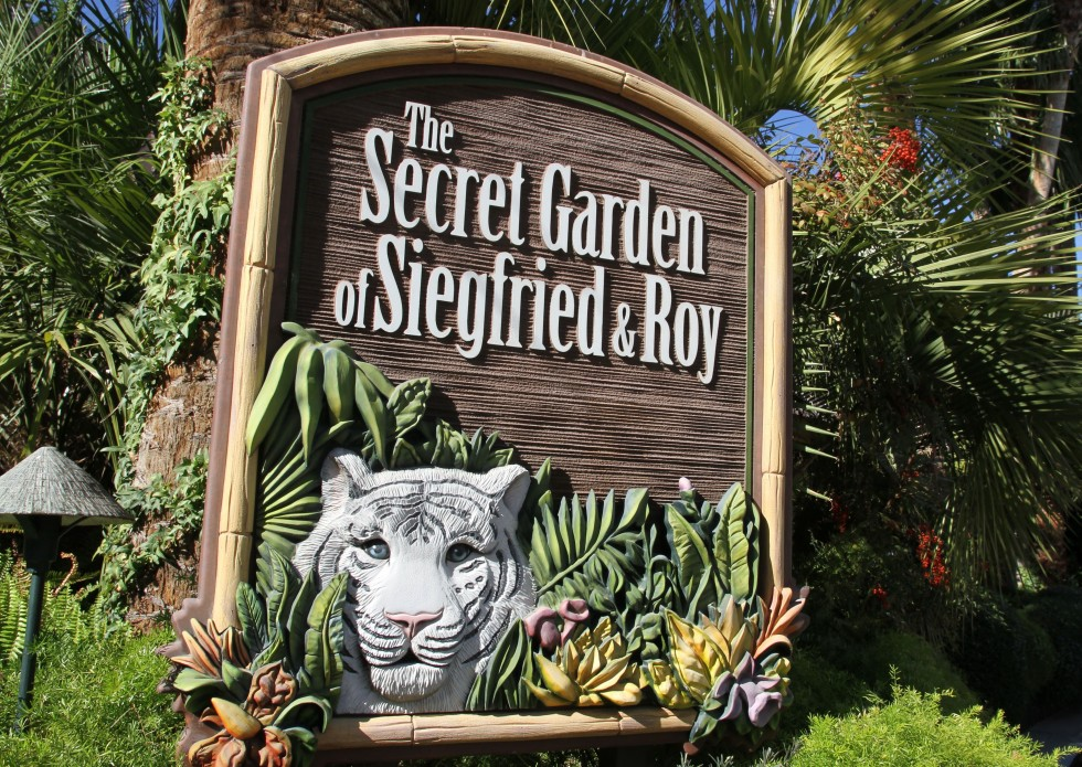 Siegfried & Roy's Secret Garden