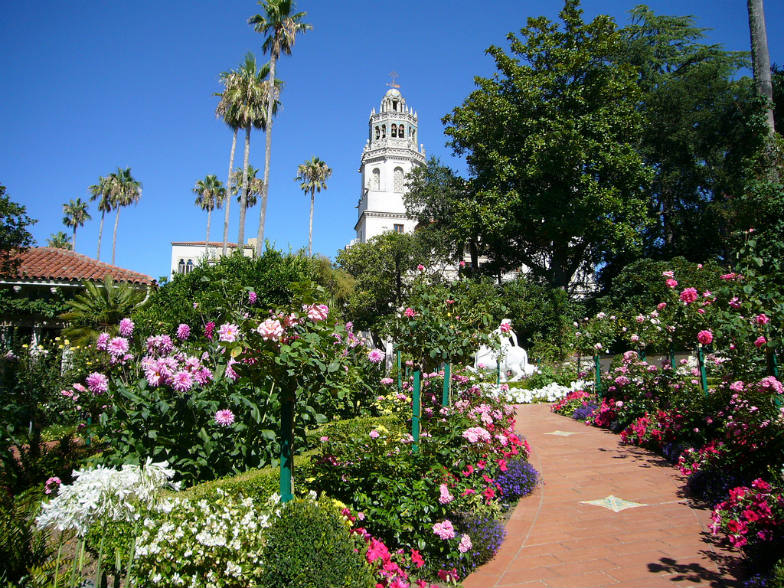 Hearst Castle and grounds