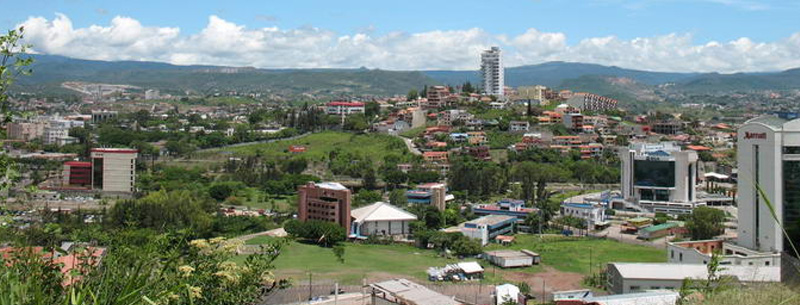 Tegucigalpa, capital city of Honduras