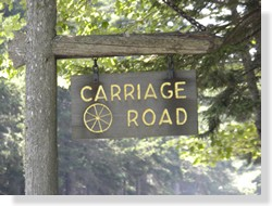 Carriage Road Sign