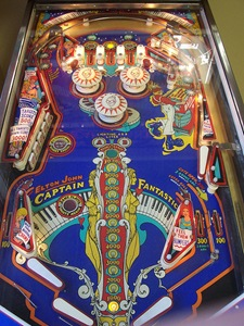 1976 Bally Captain Fantastic pinball machine