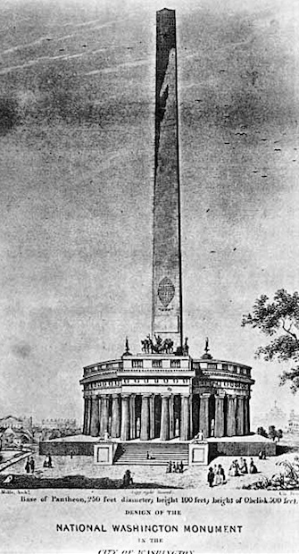 The Washington Monument – 1850 | The Burren and Beyond