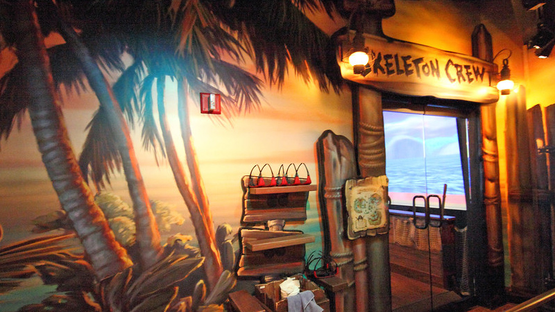 Battle for Buccaneer Gold at DisneyQuest
