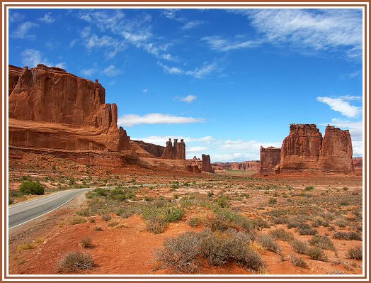 Courthouse Towers in Arches