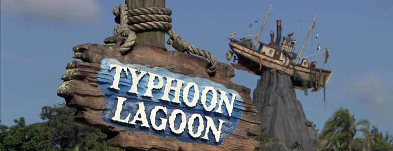 Disney World's Typhoon Lagoon Water Park