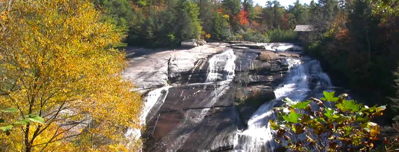 DuPont Forest Waterfall