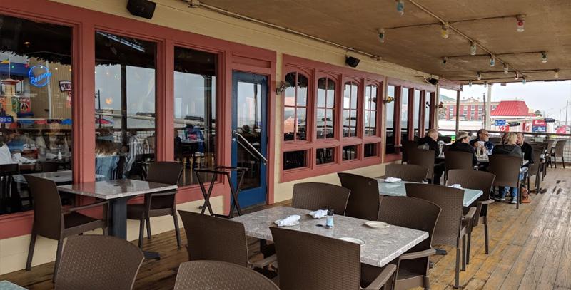Fish Tales Outdoor Patio Galveston