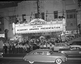 Pantages Theatre (Hollywood) - Wikipedia