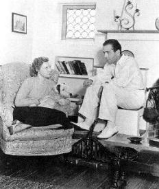 Mary and Humphrey Bogart