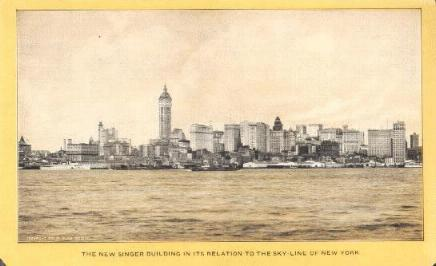 Skyline of New York, 1905