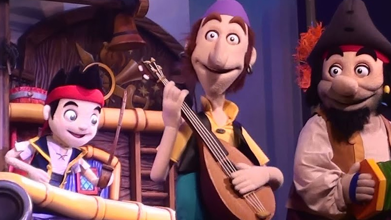 Jake and the Never Land Pirates in Disney Junior—Live on Stage