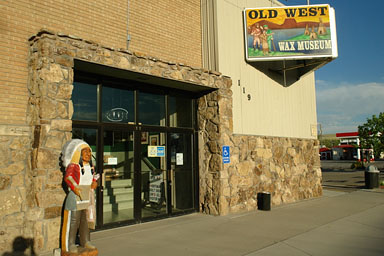 thermopolis wy wyoming old west wax museum northwest copyright andre jenny