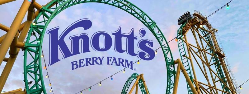 Knott's Berry Farm Theme Park Anaheim