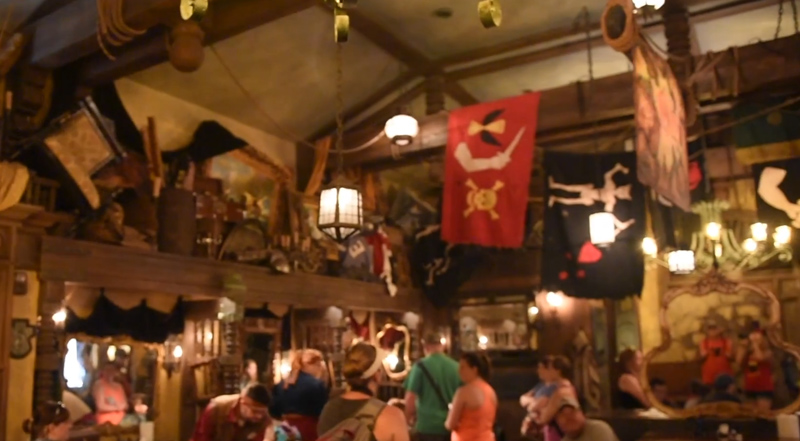 PIRATES LEAGUE Experience at Disney World
