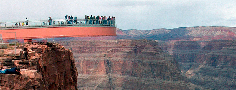 Sky Bridge Grand Canyon