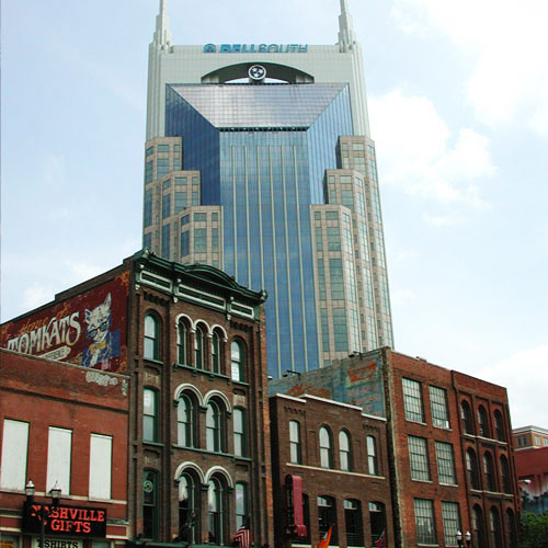 The BatMan Building Nashville