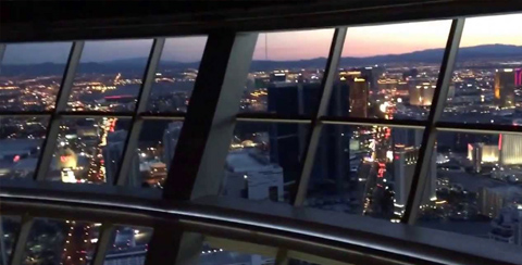 View from Top Of The World Stratosphere Las Vegas