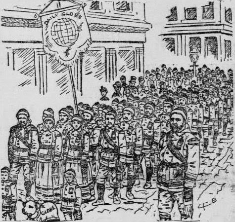 Winter Carnival Opening Day Parade 1886