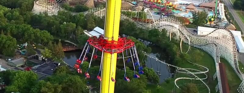 Adventureland Amusement Park in Des Moines