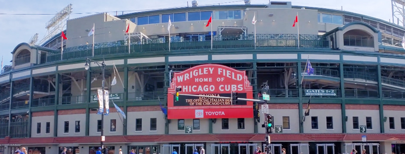 Attending a game at Wrigley