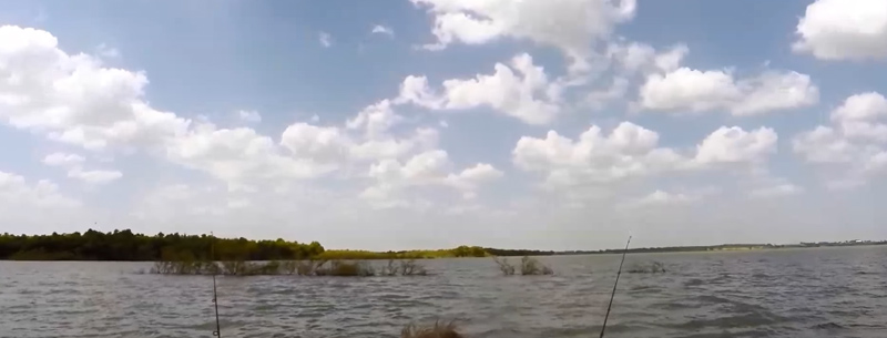 Catching Catfish on Granger Lake, Texas