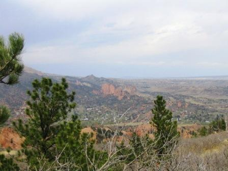 Garden of the gods from Section 16