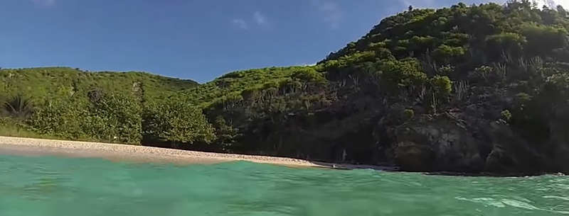 Gouverneur beach, one of the most beautiful St Barts beaches