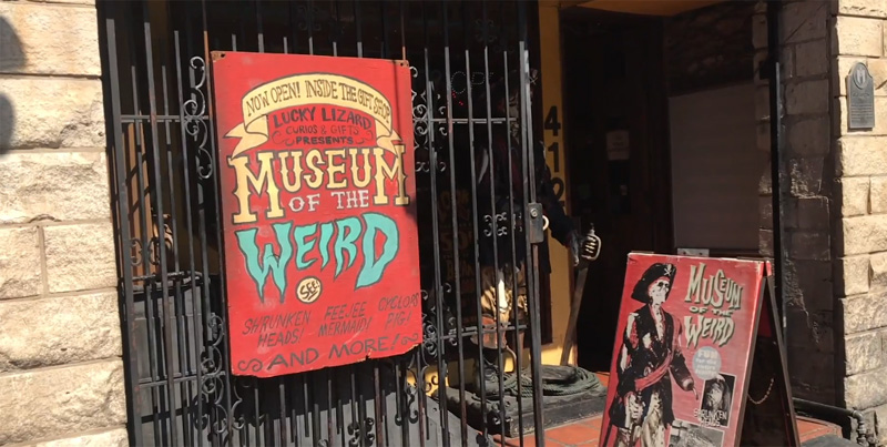 Museum of the Weird in Austin, Texas