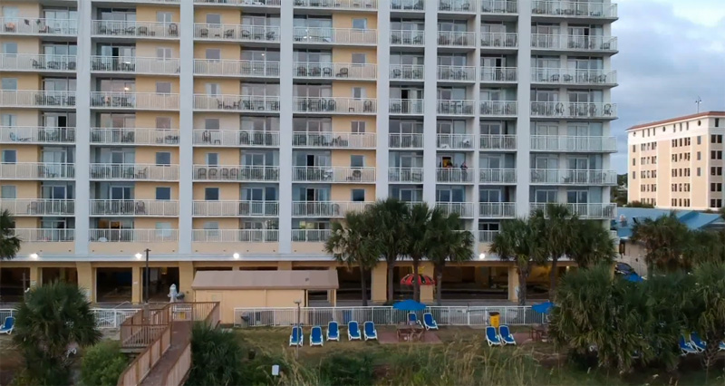 Myrtle Beach Room Review Camelot By The Sea