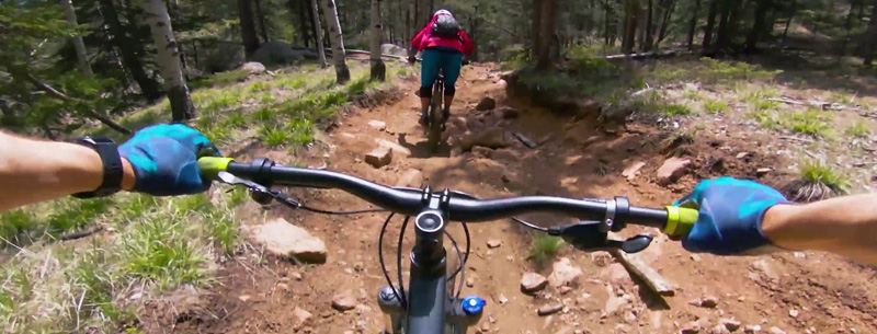 North Cheyenne Canyon bike trails