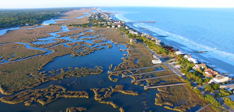 Pawley's Island Aerial-view