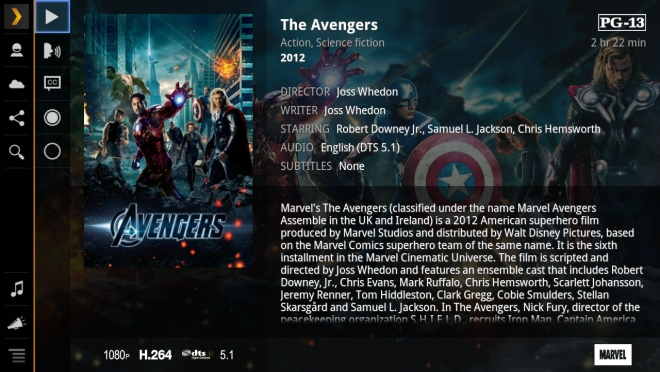 plex movie metadata