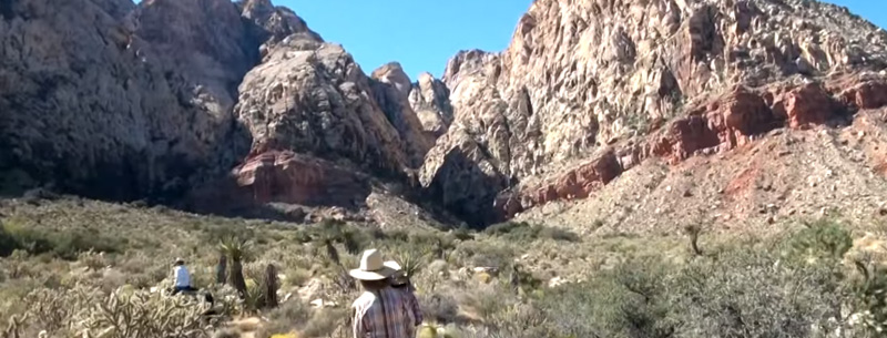 Red Rock Canyon, located in southern Nevada
