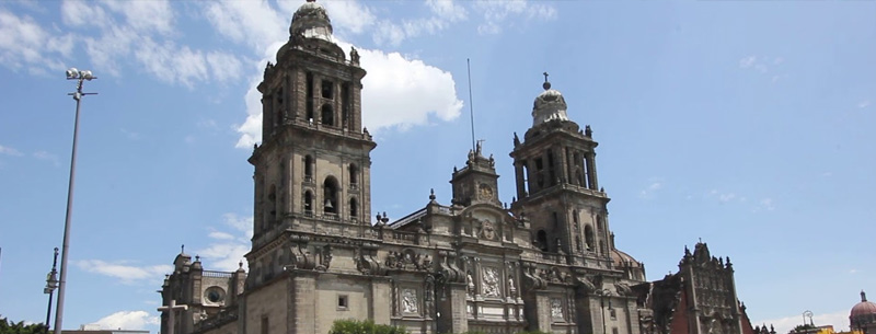 Cathedral Bell Tower Mexico City