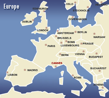 Where is Cannes?
