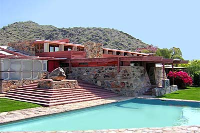 Taliesin West Dining and Dormitory